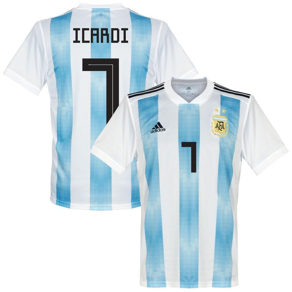 Argentinien Home Trikot 2018 2019 + Icardi 7