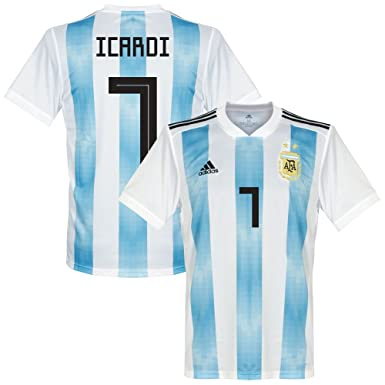 adidas Argentinien Home Trikot 2018 2019 + Icardi 7 XS