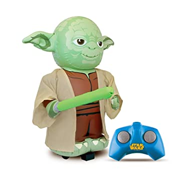 Bladez - Star Wars Yoda Hinchable RC con Sonido: Amazon.es ...