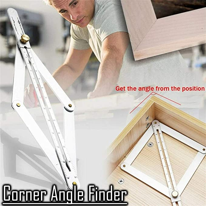 USA Corner Angle Finder Ceiling Artifact Square Tool M5T6