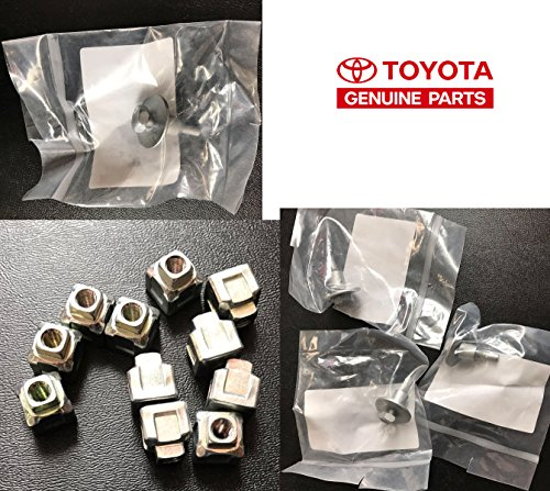 (GENUINE OEM TOYOTA SCION LEXUS AIR FILTER ELEMENT BOX COVER BOLTS SCREWS NUTS)