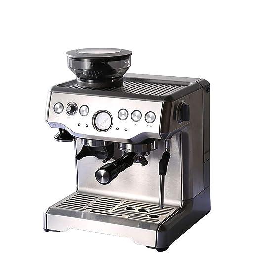 CBDJNT Cafetera Semiautomática con Cafetera En El área De Taza ...