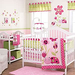 Lil Ladybug 4 Piece Baby Crib Bedding Set by Belle