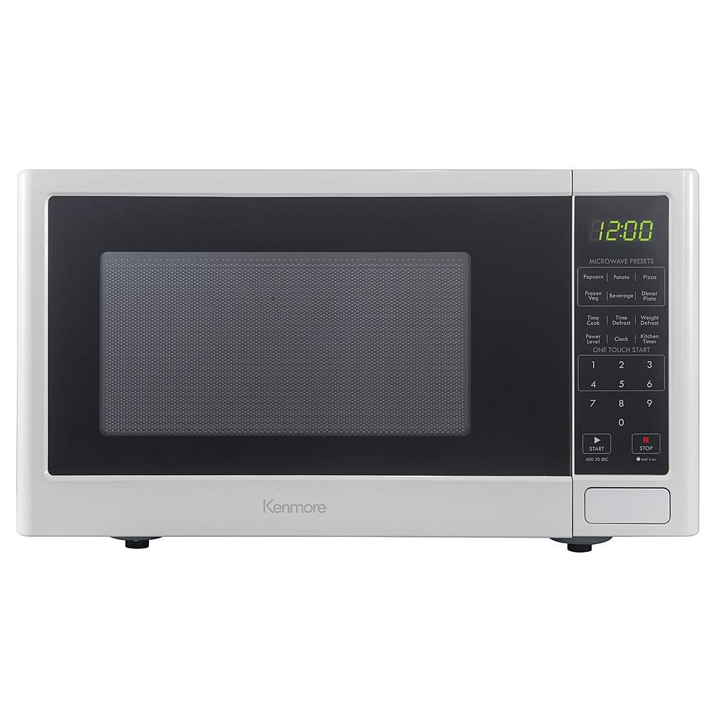 Kenmore 73772 0.9 cu. ft. Microwave Oven - White
