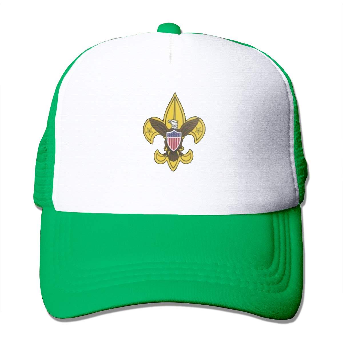 Bai Qian Boy Scout of America Sombrero de Malla Adulto Lavado ...