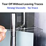 Washable Adhesive Tape,Traceless Reusable Clear