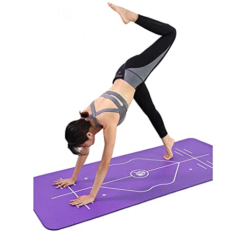 OJ Jojo Y8 - Esterilla de Yoga Gruesa y Ancha ...