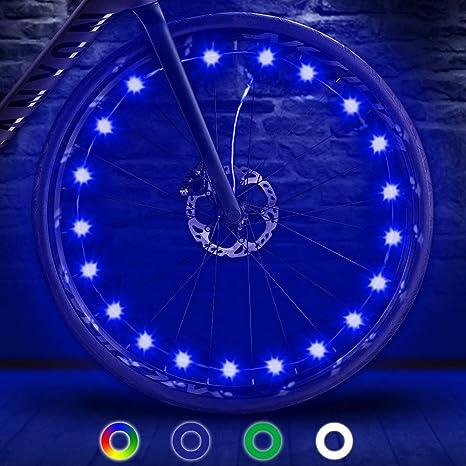 TIPEYE - Luces LED para rueda de bicicleta, IP65, resistentes al ...