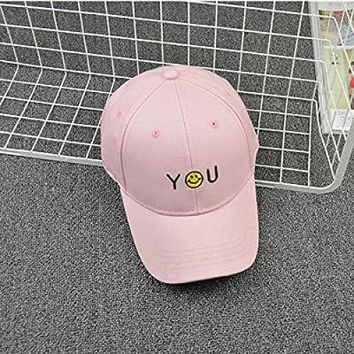 zlhcich Sombrero Negro Gorra de béisbol Coreana Hombres y Mujeres ...