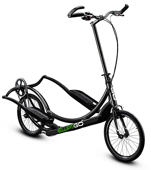 Amazon.com : ElliptiGO 8C - The Worlds First Outdoor Elliptical Bike (Black) : Sports & Outdoors