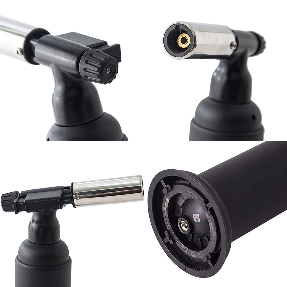 Wgwioo Blow Torch/Kitchen Butane Torch,for Cooking/BBQ/Baking/DIY/Camping by Wgwioo (Image #7)