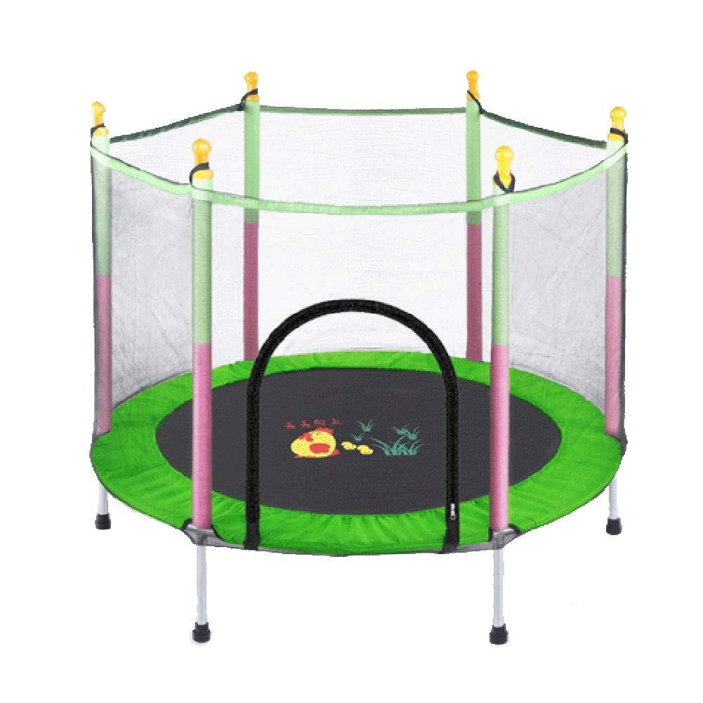 純子供、安全幼児のおもちゃのための保護の4.6ftトランポリンの屋内適性のRebounderは好みの屋外および屋内活動です (色 : 黒) 黒) : B07M7DQYB5 Green (色 Green, テックシアター:cd9f0594 --- krianta.com