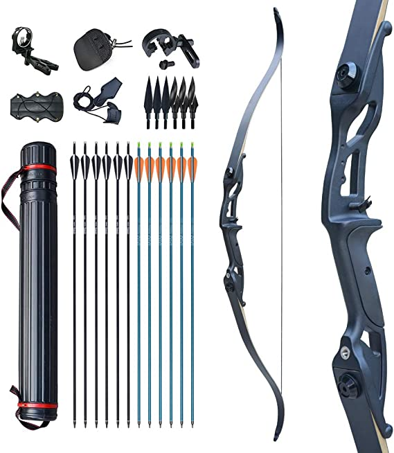 Recurve Bow Clicker Adjustable Stainless Steel Archery Arrow Draw Length Kit