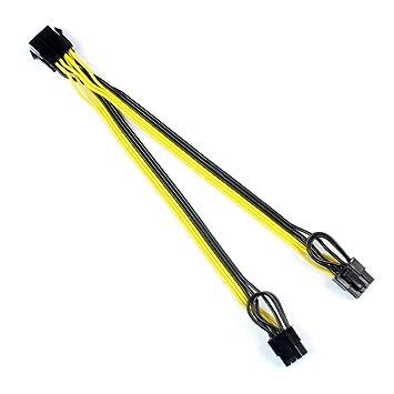 XT-XINTE - Cable divisor de alimentación para CPU (8 pines a ...