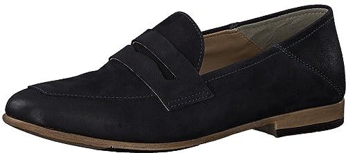 Tamaris 24225-21 - Mocasines de Piel Lisa para Mujer: Amazon.es: Zapatos y complementos