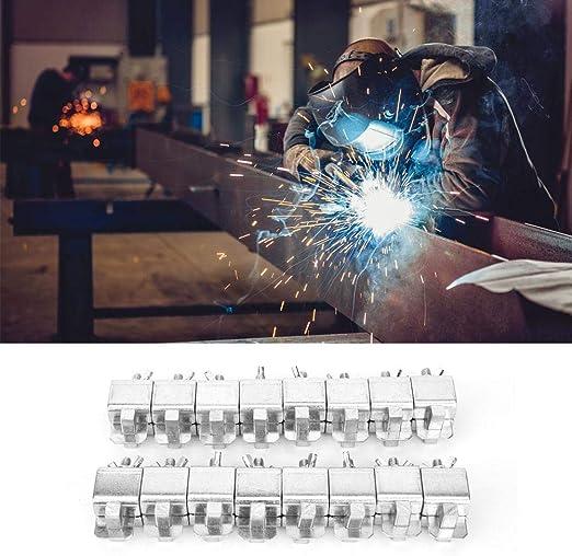 16 pc Butt Welding Clamps Weld Sheet Metal Auto Car Truck Door Skin Panel Fender