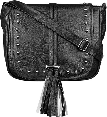 bf7fa7a008b TYPIFY® Leatherette PU Tassel Sling bag for Women and Girls College Office  Bag, Stylish latest Designer Spacious Cross Body Bag Purse with Sling Belt.  Gift ...