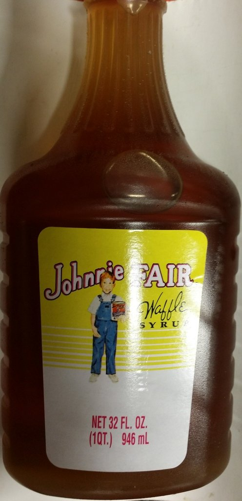 Johnnie Fair Waffle Syrup 32 Oz (Pack of 2)