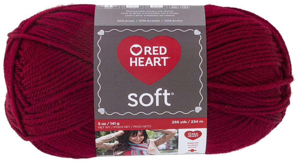 Red Heart Soft Yarn, Royal Blue Prima Marketing E728-9851
