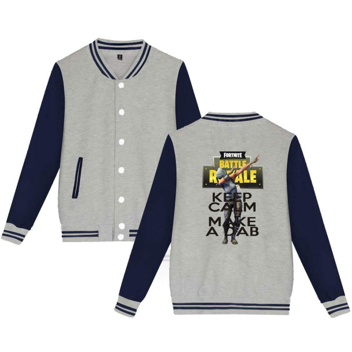 Topsone Primavera y Otoño Unisex Baseball Chaquetas Hombres Casual Clásico Manga  Larga Jacket Ropa de Abrigo a2249a46c8ef8
