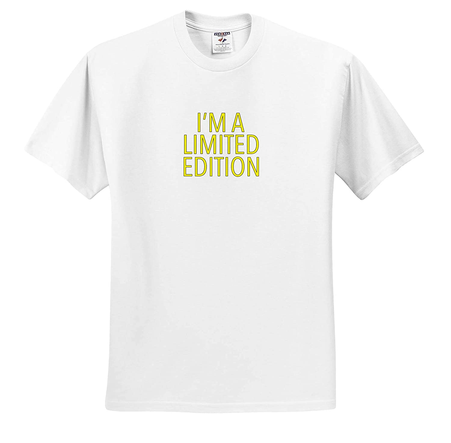 Funny Sayings 3dRose EvaDane Im A Limited Edition Yellow T-Shirts