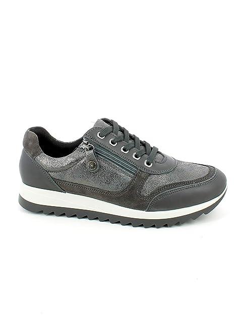ab09f4904e84a7 Imac , Damen Sneaker Grau grau, Grau - grau - Größe: 36 EU: Amazon ...