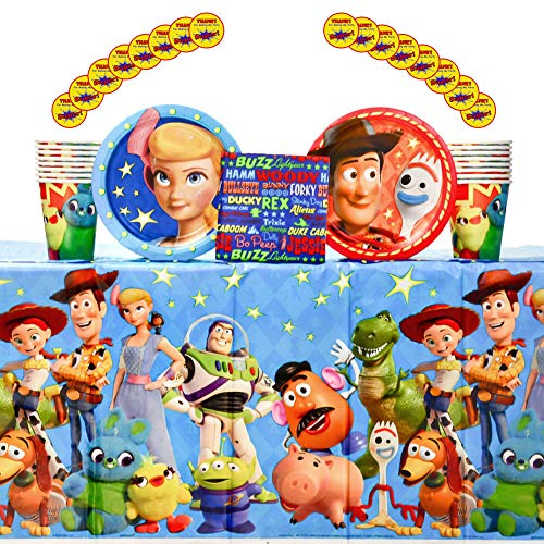 Toy Story 4Supplies Pack for 16 Guests Including