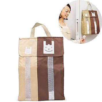 Dytiying - Soporte para bolsas de basura de cocina, de lona ...