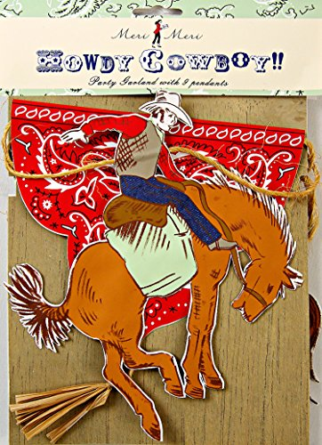 MERI MERI Howdy Cowboy Garland