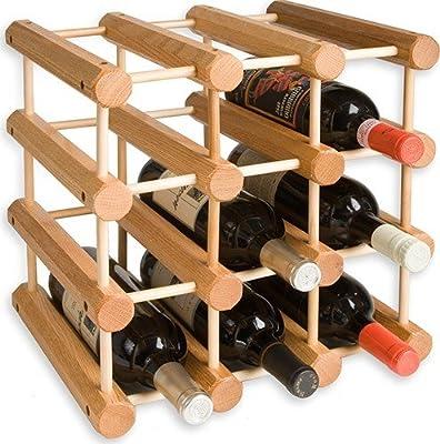 J.K. Adams Ash Wood Wine Rack