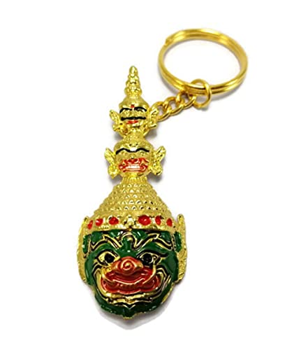 Amazon.com: MATAS Llavero gigante Tailandia metal color ...