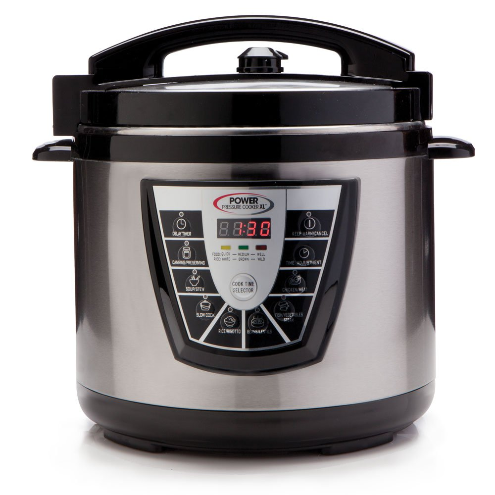 Power Cooker Electric ~ Power pressure cooker xl quart stainless steel electric