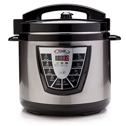 Amazon Power Pressure Cooker XL 8 Quart Digital Non Stick