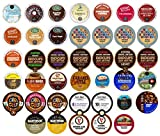 Image of Crazy Cups Single Serve Cups for Keurig K cup Brewer Variety Pack sampler