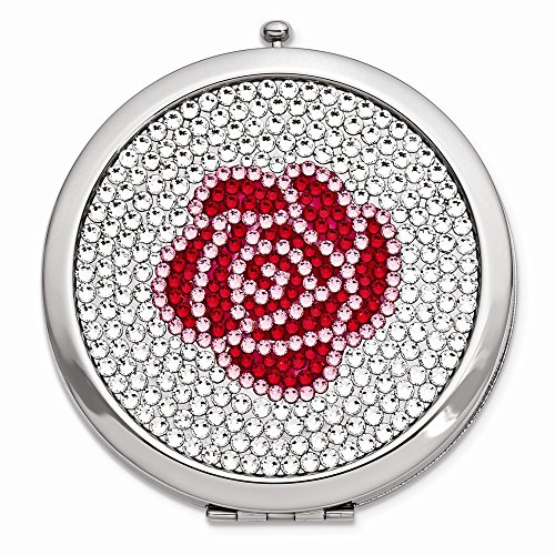 (Rose Swarovski Crystal Compact)