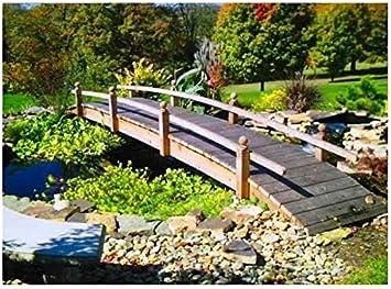 18 ft. Mano corto Post jardín puente (sellado corto Post puente): Amazon.es: Jardín