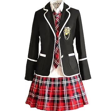 Souvent URSFUR Uniforme Scolaire Fille Japonais Costume Anime Femme  AD96