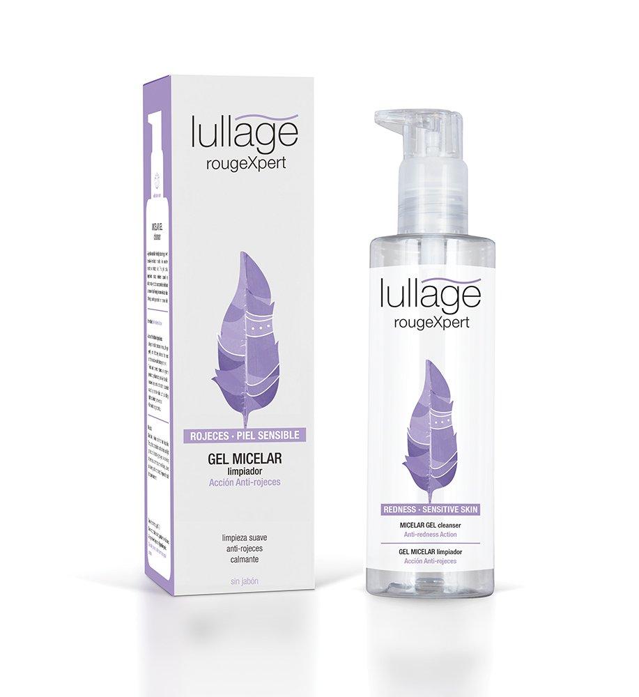 Lullage rougeXpert - Gel Micelar Limpiador. Para limpiar y desmaquillar incluso las pieles más sensibles o con rojeces. Bella Aurora Labs L422400