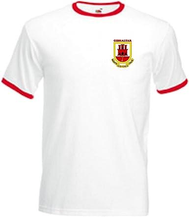 Invicta Screen Printers Gibraltar Escudo Estilo Adultos Football ...