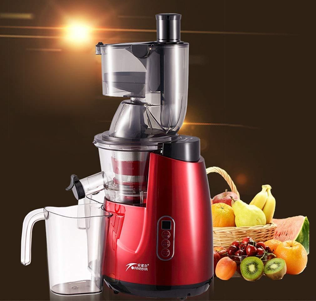 Rayem exprimidor, máquina de jugos, máquina de Alimentos Rotos multifunción, máquina de Leche de Soja y Frijoles de Gran Capacidad para el hogar, ...