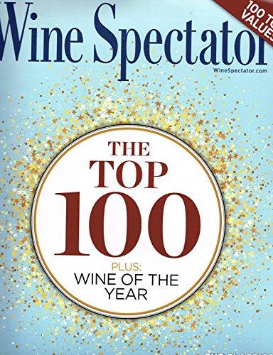 Wine Spectator Magazine - Wine Spectator ( The Top 100 Plus Wine Of The Year Dec -Jan Magazine 2018