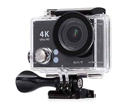mobilegear 4K Ultra HD 12 MP Wifi Waterproof Digital Action Camera and Sports Camcorder with Accessories Action Cameras   Accessories
