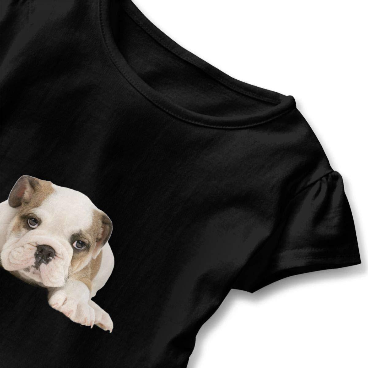 Happy-girl Ye Bulldog Outdoor Lover Short-Sleeve Tunic T-Shirt