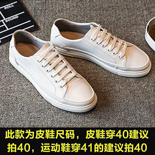 GUNAINDMX nbsp;Men's shoes nbsp; shoes wild casual spring flat white r1r7qavwp