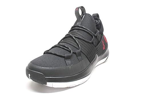 aca29f7cca8d Nike Men s Jordan Trainer Pro Black Gym Red-White (10.5 D(M) US ...