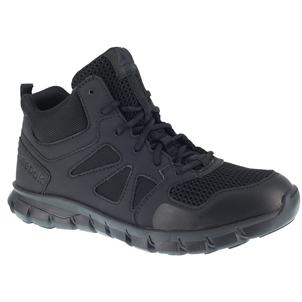 Reebok Men's Sublite Cushion RB8405 Military and Tactical Boot, Black, 12 M US
