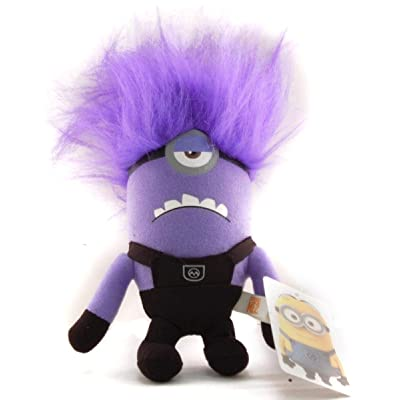 "Toynk Despicable Me 6"" Plush One Eyed Evil Minion: Toys & Games"