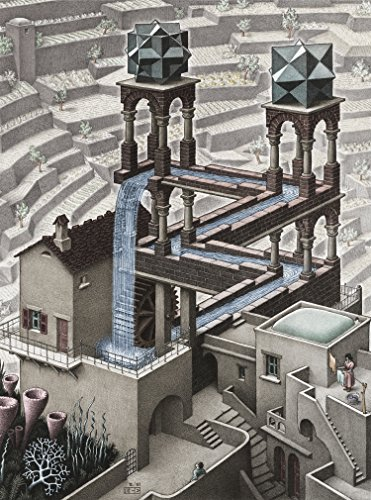 1000 piece puzzles escher - 2