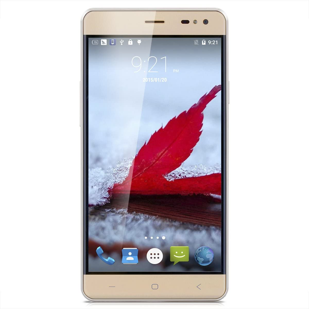 vkworld G1 5.5 IPS 4 G LTE Smartphone 3 GB RAM + 16 GB ROM 5000 mAh batería Dual sim, sin Contrato 13.0 MP + 8.0MP Dual Cámara Android 5.1 mt6753 Octa