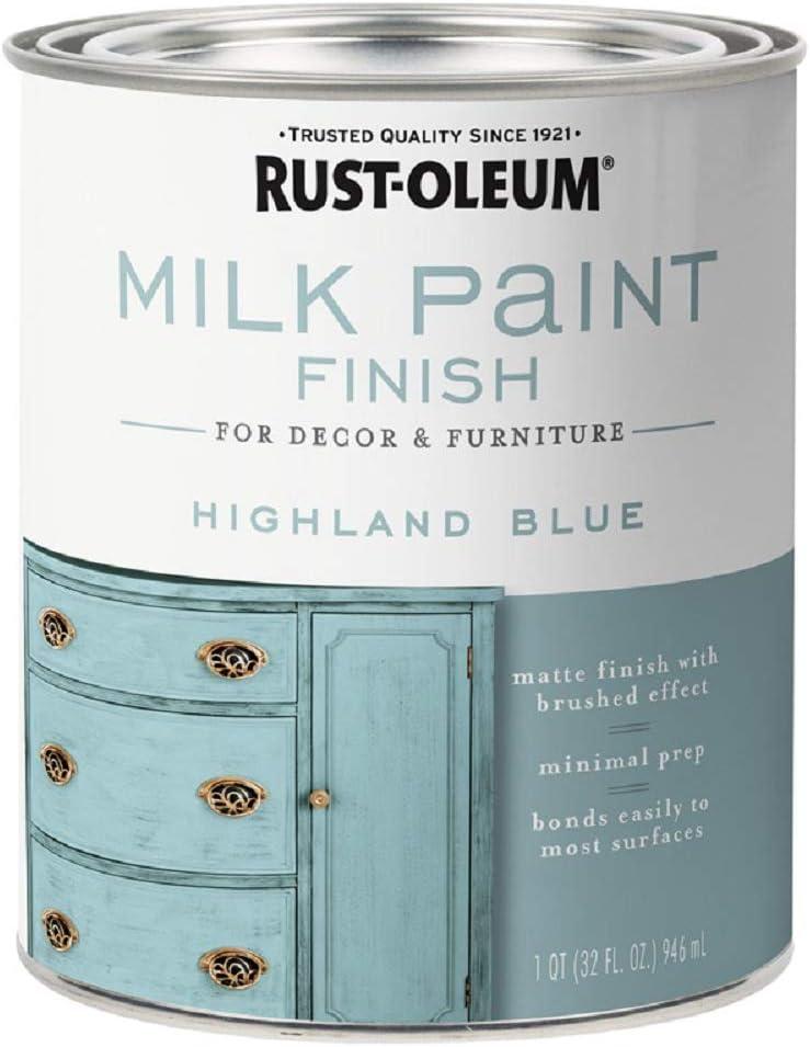 MILK PAINT HGH BLUE 1QT